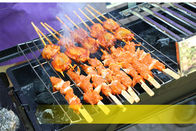 Stainless Steel Charcoal Bbq Grill Portable For Outdoor Barbecue / Home Cooking